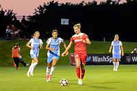 Boyds, MD - Saturday June 03, 2017:  Poliana Barbosa Medeiros, Alyssa Kleiner during a regular season National Women's Soccer League (NWSL) match between the Washington Spirit and the Houston Dash at Maureen Hendricks Field, Maryland SoccerPlex