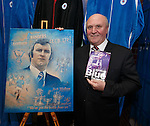 Colin Stein at the Jock Wallace book launch at the Rangers megastore
