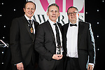 © Joel Goodman - 07973 332324 . 02/03/2017 . Manchester , UK . Team of the Year – Crime - Olliers Solicitors . The Manchester Legal Awards at the Midland Hotel . Photo credit : Joel Goodman