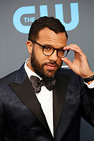 O. T. Fagbenle attends the 23rd Annual Critics' Choice Awards at Barker Hangar in Santa Monica, Los Angeles, USA, on 11 January 2018. Photo: Hubert Boesl - NO WIRE SERVICE - Photo: Hubert Boesl/dpa /MediaPunch ***FOR USA ONLY***