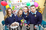 Pictured at the Student Enterprise Awards day at Tralee IT on Wednesday were students from Listowel Community College how were selling O Road which is Rocky road made with Oreos from left Cliodhna Griffin, Julianne McCarthy, Ciara Daly and Colm Stack.