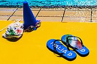 Flip flop Italy Slippers<br /> Firenze 19-11-2019 Piscina Nannini <br /> water polo Women's World League <br /> Italy ITA - Nederland NED <br /> Photo Andrea Staccioli/Deepbluemedia/Insidefoto