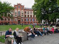 Universität in Rostock, Mecklenburg-Vorpommern, Deutschland