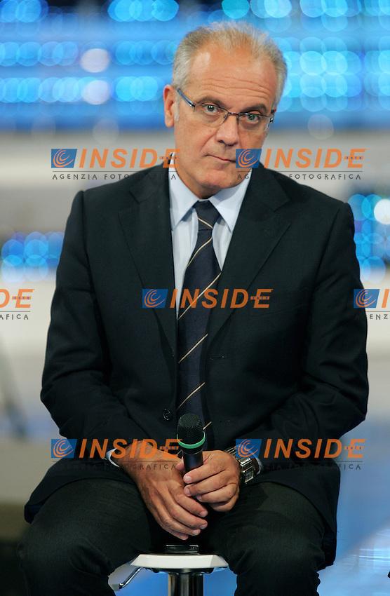 """Mauro Mazza..RAI - Presentazione del programma televisivo """" I Migliori Anni"""" abbinato alla Lotteria Italia...Roma, 16 Settembre 2010..Photo Serena Cremaschi Insidefoto"""