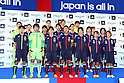 Photo Session, DECEMBER 26, 2011 - Football / Soccer : Japan National Team Official Uniform Announcement Press conference at Saitama Super Arena, Saitama, Japan. (Photo by YUTAKA/AFLO SPORT) [1040]