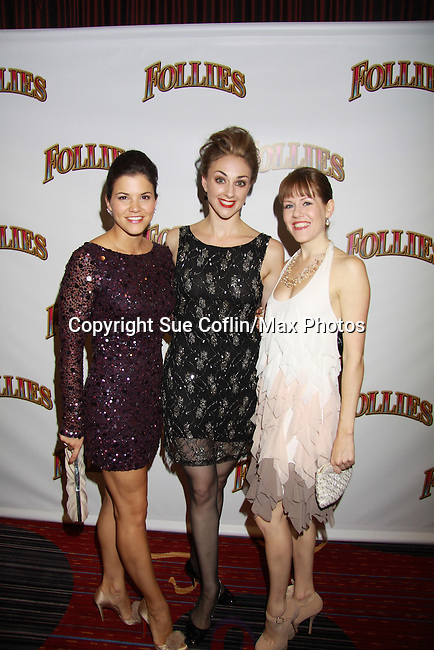 Opening Night -  stars in Follies, a James Goldman & Stephen Sondheim's classic musical on September 12, 2011 at the Marquis Theatre, New York City, New York. (Photo by Sue Coflin/Max Photos