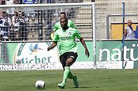 Reinhold Yabo (KSC) - 21.07.2013: FSV Frankfurt vs. Karlsruher SC, Frankfurter Volksbank Stadion