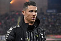 Cristiano Ronaldo of Juventus looks on before the Italy Cup 2018/2019 football match between Bologna and Juventus at stadio Renato Dall'Ara, Bologna, January 12, 2019 <br />  Foto Andrea Staccioli / Insidefoto
