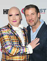 "LOS ANGELES, CA-  James St. James, Christopher Racster, At 2017 Outfest Los Angeles LGBT Film Festival - Closing Night Gala Screening Of ""Freak Show"" at The Theatre at Ace Hotel, California on July 16, 2017. Credit: Faye Sadou/MediaPunch"