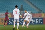 Qatar vs Palestine during the AFC U23 Championship China 2018 Quarter Finals match at Changzhou Olympic Sports Center on 19 January 2018, in Changzhou, China. Photo by Marcio Rodrigo Machado / Power Sport Images