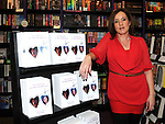 Local Medium Tara Coyle pictured with copies of her new book at Waterstones in Scotch Hall. Photo: www.pressphotos.ie