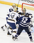 Billy Maday (Notre Dame - 17), Sean Lorenz (Notre Dame - 24), Mike Johnson (Notre Dame - 32), Stevie Moses (UNH - 22) - The University of Notre Dame Fighting Irish defeated the University of New Hampshire Wildcats 2-1 in the NCAA Northeast Regional Final on Sunday, March 27, 2011, at Verizon Wireless Arena in Manchester, New Hampshire.