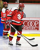 Aaron Bogosian (St. Lawrence - 32) - The St. Lawrence University Saints defeated the Harvard University Crimson 3-2 on Friday, November 20, 2009, at the Bright Hockey Center in Cambridge, Massachusetts.
