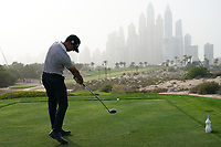 Wade Ormsby (AUS) in action during the first round of the Omega Dubai Desert Classic, Emirates Golf Club, Dubai, UAE. 24/01/2019<br /> Picture: Golffile | Phil Inglis<br /> <br /> <br /> All photo usage must carry mandatory copyright credit (&copy; Golffile | Phil Inglis)