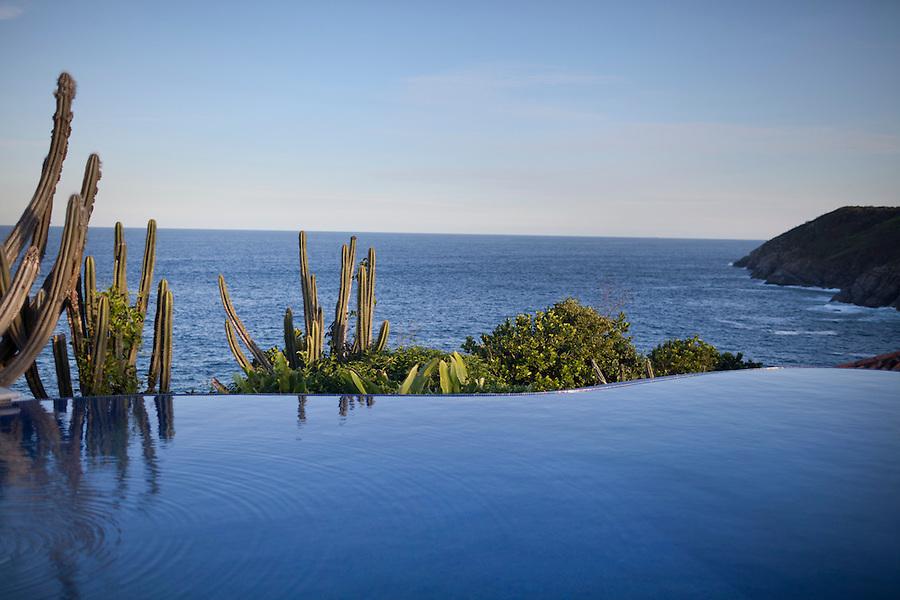 Infinity pool at Cliffside Villa.