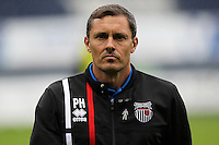 Paul Hurst Grimsby Manager before the Sky Bet League 2 match between Luton Town and Grimsby Town at Kenilworth Road, Luton, England on 10 September 2016. Photo by Harry Hubbard / PRiME Media Images.