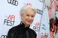 HOLLYWOOD, CA - NOVEMBER 12: Helen Mirren, at The Leisure Seeker Special Screening During AFI Fest 2017 at the Egyptian Theatre in Hollywood, California on November 12, 2017. Credit: Faye Sadou/MediaPunch /NortePhoto.com