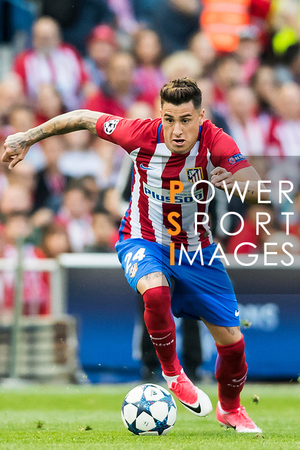 Jose Maria Gimenez de Vargas of Atletico de Madrid in action during their 2016-17 UEFA Champions League Semifinals 2nd leg match between Atletico de Madrid and Real Madrid at the Estadio Vicente Calderon on 10 May 2017 in Madrid, Spain. Photo by Diego Gonzalez Souto / Power Sport Images