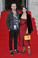 "LONDON, ENGLAND - AUGUST 08: Sam Doyle and Sai Bennett at the ""Pain and Glory"" Film4 Summer Screen opening gala & launch party, Somerset House, The Strand, on Thursday 08 August 2019 in London, England, UK.<br /> CAP/CAN<br /> ©CAN/Capital Pictures"