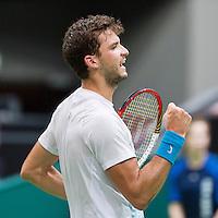 14-02-13, Tennis, Rotterdam, ABNAMROWTT,  Grigor Dimitrov
