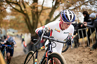 World Cup leader Katerina Nash (CZE) <br /> <br /> Women's Race<br /> UCI cyclocross WorldCup - Koksijde (Belgium)<br /> <br /> ©kramon