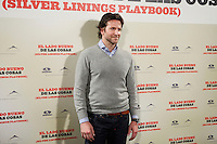 Bradley Cooper attend 'Silver Linings Playbook' photocall at Santo Mauro Hotel in Madrid, Spain. January 16, 2013. (ALTERPHOTOS/Caro Marin)
