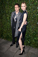 Sam Rockwell and Leslie Bibb<br /> arriving for the 2018 Charles Finch & CHANEL Pre-Bafta party, Mark's Club Mayfair, London<br /> <br /> <br /> ©Ash Knotek  D3380  17/02/2018