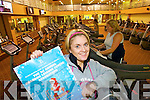 AEROBATHON: Yvonne Dillon, manager of the Brandon gym launching their 1st Annual Brandon Leisure Centre Aerobathon which will be held on Thursday 11th December from 7am to 7pm.   Copyright Kerry's Eye 2008