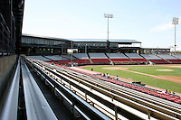 May 14, 2009: Newly remodeled Elfstrom Stadium, home of the Midwest League Kane County Cougars, which is located in Geneva, IL.  Photo by: Chris Proctor/Four Seam Images