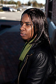 November 03, 2009. Durham, North Carolina..Kimberly Turman says she was a victim of police harassment by the Durham Police Department.