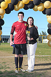 Palos Verdes, CA 02/09/12 - Andrew Wallace (Peninsula #22) during the open ceremony on parents' day.