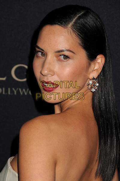 LOS ANGELES, CA - FEBRUARY 25 - Olivia Munn. BVLGARI &quot;Decades of Glamour&quot; Oscar Party held at Soho House on 25th February 2014.<br /> CAP/ADM/BP<br /> &copy;Byron Purvis/AdMedia/Capital Pictures