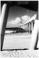 A View From Underneath The Huntington Beach Pier