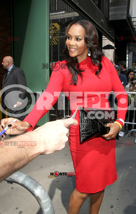August 30, 2012: Vivica Fox stops by Good Afternoon America Studios to discuss the Hot Topic of the Day, &quot;Are Manly Men a Dying Breed&quot; in New York City...Credit:&copy; RW/MediaPunch Inc. /NortePhoto.com<br /> <br /> **CREDITO*OBLIGATORIO** <br /> *No*Venta*A*Terceros*<br /> *No*Sale*So*third*<br /> *** No*Se*Permite*Hacer*Archivo**<br /> *No*Sale*So*third*