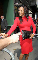 August 30, 2012: Vivica Fox stops by Good Afternoon America Studios to discuss the Hot Topic of the Day, &quot;Are Manly Men a Dying Breed&quot; in New York City...Credit:&copy; RW/MediaPunch Inc. /NortePhoto.com<br />