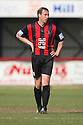 Histon player-manager David Livermore during the Blue Square Bet Premier match between Histon and AFC Wimbledon at the Glass World Stadium, Histon on 16th April, 2011.© Kevin Coleman 2011.