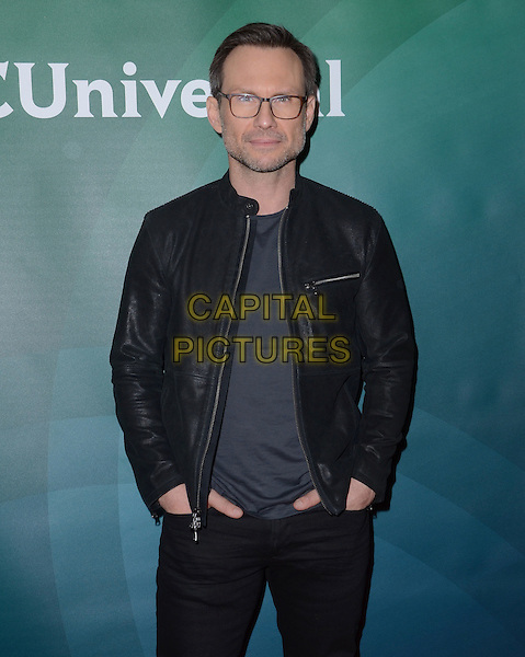 14 January  - Pasadena, Ca - Christian Slater. NBC Universal Press Tour Day 2 held at The Langham Huntington Hotel.  <br /> CAP/ADM/BT<br /> &copy;BT/ADM/Capital Pictures
