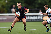 George Gasson of the Dragons in possession. Pre-season friendly match, between Ealing Trailfinders and the Dragons on August 11, 2018 at the Trailfinders Sports Ground in London, England. Photo by: Patrick Khachfe / Onside Images