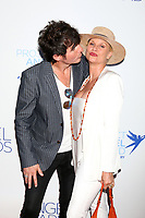 LOS ANGELES - SEP 13:  Jake Marcus, Nicolette Sheridan at the Project Angel Food Awards Gala at the Garland Hotel on September 13, 2019 in Los Angeles, CA