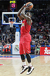 Olympimpiacos Piraeus' Darius Johnson-Odom during Euroleague match. January 28,2016. (ALTERPHOTOS/Acero)