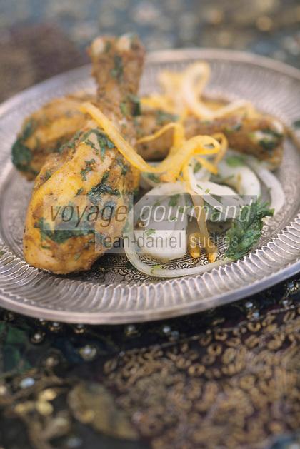"""Asie/Inde/Rajasthan/Udaipur: Hotel """"Taj Lake Palace"""" sur le lac Pichola - Recette de Poulet Kebab"""