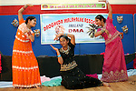 Sisters, Jingle and Twinkle Mathew with Joyce Abraham perform a traditional dance at the Drogheda Malayali Association Onam Festival in Mell NS...Photo NEWSFILE/Jenny Matthews.(Photo credit should read Jenny Matthews/NEWSFILE)....This Picture has been sent you under the condtions enclosed by:.Newsfile Ltd..The Studio,.Millmount Abbey,.Drogheda,.Co Meath..Ireland..Tel: +353(0)41-9871240.Fax: +353(0)41-9871260.GSM: +353(0)86-2500958.email: pictures@newsfile.ie.www.newsfile.ie.FTP: 193.120.102.198.