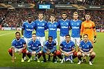 19.09.2019 Rangers v Feyenoord: Rangers team