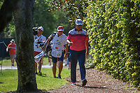 Hideki Matsuyama (JPN) heads to the tee on 2 during round 3 of the Arnold Palmer Invitational at Bay Hill Golf Club, Bay Hill, Florida. 3/9/2019.<br /> Picture: Golffile | Ken Murray<br /> <br /> <br /> All photo usage must carry mandatory copyright credit (&copy; Golffile | Ken Murray)