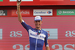 Enric Mas Nicolau (ESP) Quick-Step Floors leads the young rider award at the end of Stage 6 of the La Vuelta 2018, running 150.7km from Hu&eacute;rcal-Overa to San Javier, Mar Menor, Sierra de la Alfaguara, Andalucia, Spain. 30th August 2018.<br /> Picture: Colin Flockton | Cyclefile<br /> <br /> <br /> All photos usage must carry mandatory copyright credit (&copy; Cyclefile | Colin Flockton)