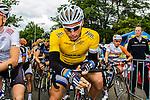 Race leader Marcel KITTEL (GER, GIA) getting ready for the start Stage 3 Buchten - Buchten, Ster ZLM Toer, Buchten, The Netherlands, 20th June 2014, Photo by Thomas van Bracht / Peloton Photos