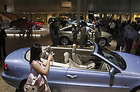 Volvo car at the Auto China 2004 exhibition in Beijing, China..