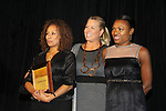 """Tamara Tunie - Emme - Deborah Koenigsberger at The Fourteenth Annual Hearts of Gold Gala """"Hooray for Hollywood!"""" - with its mission to foster sustainable change in lifestyle and levels of self-sufficiency for homeless mothers and their children on October 28, 2010 at the Metropolitan Pavillion, New York City, New York. (Photo by Sue Coflin/Max Photos)"""