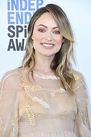 08 February 2020 - Santa Monica - Olivia Wilde. 2020 Film Independent Spirit Awards - Arrivals held at Santa Monica Pier. Photo Credit: Birdie Thompson/AdMedia