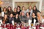 Kerry Riding Club pictured dining out at Cassidys restaurant, Tralee on Saturday night last were front l-r: Brendan Moriarty, Ciara O'Donnell, Nora O'Donovan, Damien Fitzgerald, Maria Glavin, Avril Rose Geary and Carolann O'Sullivan. Back l-r: Jacqueline Higgins, Mary Bradley, Elaine Malone, Caroline Leahy, Louise Brassil, Reidin Coughlan and Alannah Bradley.